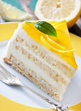 Lemon cake Stock Photography