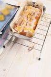 Lemon cake with poppy seeds Stock Photo