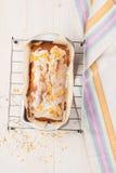 Lemon cake with poppy seeds Stock Photos