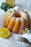 Lemon cake Stock Image