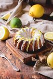 Lemon cakes Stock Image