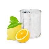 Lemon can Royalty Free Stock Photo