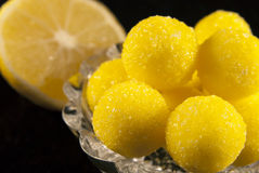Lemon candies Royalty Free Stock Photography