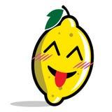 Lemon cartoon character Stock Photography