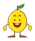 Lemon Cartoon Character Royalty Free Stock Images