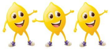 Lemon Character Stock Photography