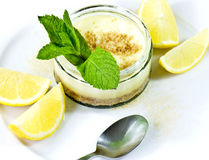 Lemon cheesecake Royalty Free Stock Photos