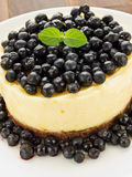 Lemon cheesecake Stock Images