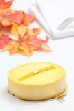 Lemon cheesecake Royalty Free Stock Photography