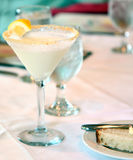 Lemon Cheesecake Cocktail Stock Photo