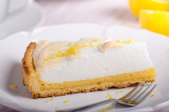 Lemon cheesecake delicious Royalty Free Stock Photography