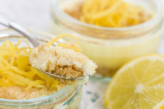 Lemon Cheesecake Royalty Free Stock Image