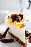 Lemon cheesecake Royalty Free Stock Photo