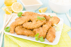 Lemon Chicken Royalty Free Stock Images
