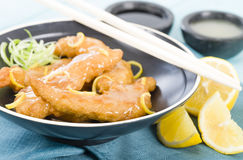 Lemon Chicken Royalty Free Stock Image