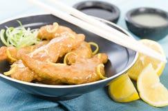 Lemon Chicken Royalty Free Stock Image