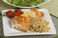 Lemon chicken Stock Images