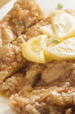 Lemon Chicken Royalty Free Stock Photo