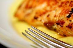 Lemon chicken with rice Stock Photos