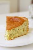 Lemon Chiffon Cake Stock Photography