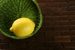 Lemon citric fruit Stock Photography