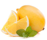 Lemon or citron citrus fruit Royalty Free Stock Photos