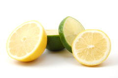 Lemon and citron fruit Stock Photography
