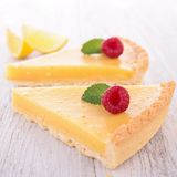 Lemon citrus tart Royalty Free Stock Image