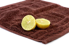 Lemon and cleaning Stock Images