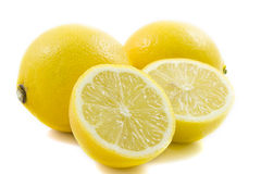 Lemon close up Royalty Free Stock Images