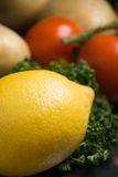 Lemon close-up Stock Image