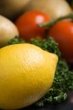 Lemon close-up Stock Image