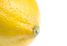 Lemon close-up Royalty Free Stock Photos