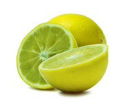 The lemon closeup Royalty Free Stock Photos
