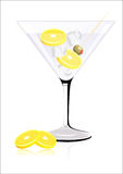 Lemon cocktail Royalty Free Stock Photo