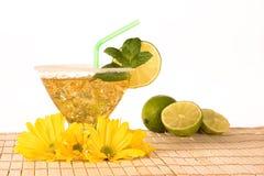 Lemon cocktail Royalty Free Stock Image