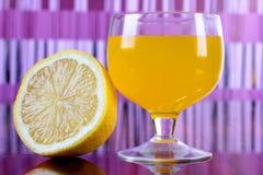Lemon and cocktail Stock Photos
