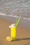 Lemon cocktail Stock Photo