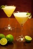 Lemon cocktail drinks Royalty Free Stock Photo