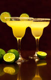 Lemon cocktail drinks Royalty Free Stock Image