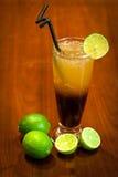 Lemon cocktail drinks Stock Photos