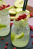 Lemon cocktail. Stock Image