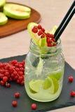 Lemon cocktail. Royalty Free Stock Photo