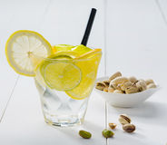 Lemon cocktail Stock Images
