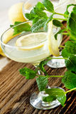 Lemon Coctails Royalty Free Stock Photography