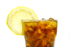 Lemon Cola Stock Images