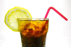 Lemon Cola Stock Image