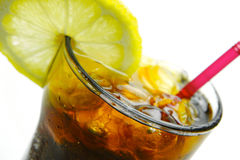 Lemon Cola Stock Photography