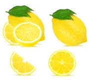 Lemon collage Royalty Free Stock Photos