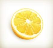 Lemon. Computer illustration on white background stock illustration